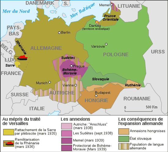 L'extension de l'Allemagne nazie entre 1935 et 1939, Wikip�dia, carte de Historicair http://upload.wikimedia.org/wikipedia/commons/thumb/9/92/Extension_of_Germany_%281935-1939%29-fr.svg/400px-Extension_of_Germany_%281935-1939%29-fr.svg.png