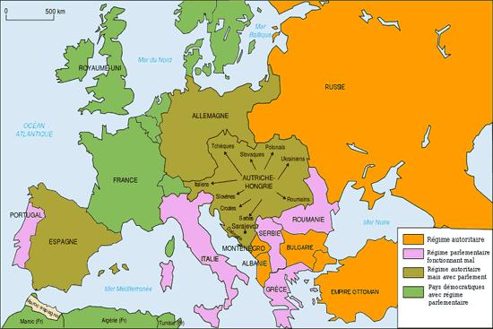 Carte De Leurope Apres La Premiere Guerre Mondiale.Carte Du Monde De L Europe Apres La Premiere Guerre Mondiale